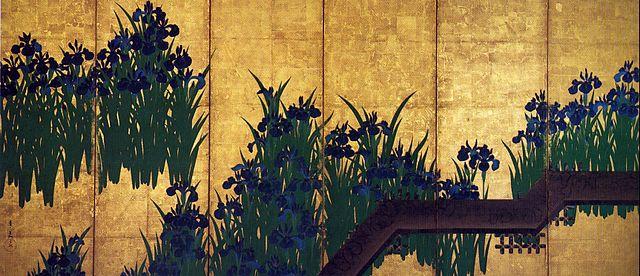 出典: https://commons.wikimedia.org/wiki/File:KORIN-Yatsuhashi-L.jpg